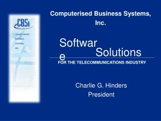 Computerised Business Systems, Inc.