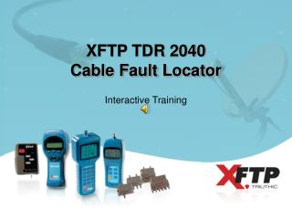 XFTP TDR 2040 Cable Fault Locator