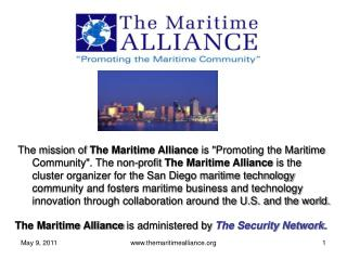 Key attributes of  The Maritime Alliance :