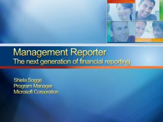 Management Reporter The next generation of financial reporting