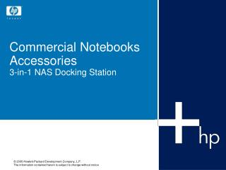 Commercial Notebooks Accessories 3-in-1 NAS Docking Station