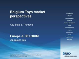 Belgium Toys market perspectives