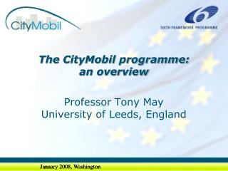 The CityMobil programme: an overview