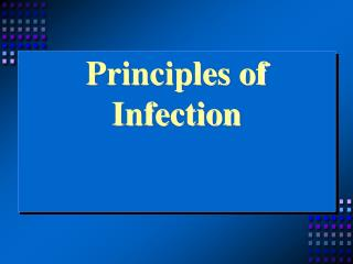 Principles of Infection