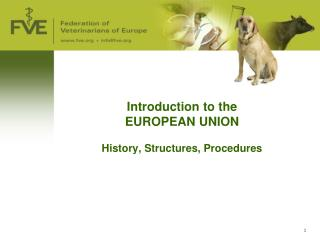 Introduction to the  EUROPEAN UNION History, Structures, Procedures