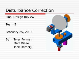Disturbance Correction