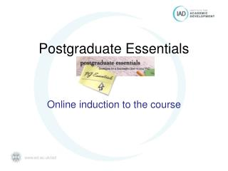 Postgraduate Essentials