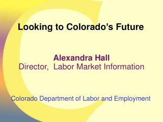 Colorado Department of Labor and Employment