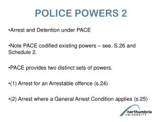 POLICE POWERS 2