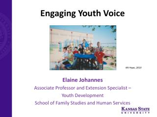 Engaging Youth Voice