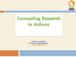 Connecting Research to Actions