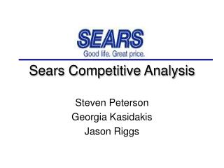 Sears Competitive Analysis