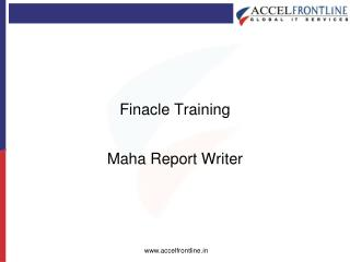 Finacle Training