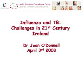 Dr Joan O'Donnell April 3 rd  2008