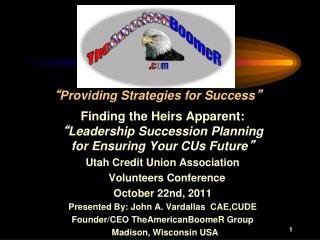""" Providing Strategies for Success """