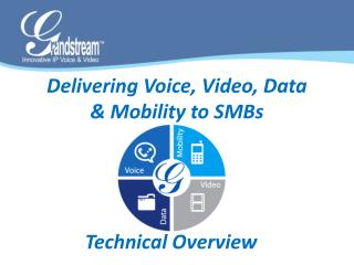 Delivering Voice, Video, Data  & Mobility to SMBs