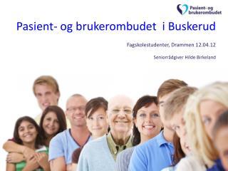 Pasient- og brukerrettigheter erfaringer og funksjon