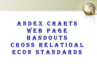 Andex  charts Web page Handouts Cross  relatioal  econ standards