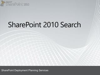 SharePoint  2010 Search