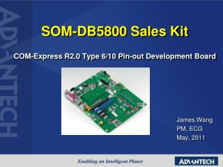 SOM-DB5800 Sales Kit COM-Express R2.0 Type 6/10 Pin-out Development Board