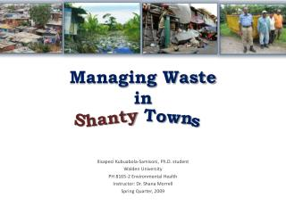 Managing Waste  in