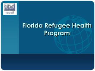 Florida Refugee Health Program