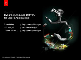 Dynamic Language Delivery  for  Mobile  Applications