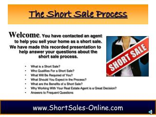 The Short Sale Process