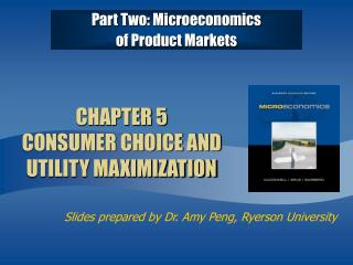CHAPTER 5  CONSUMER CHOICE AND UTILITY MAXIMIZATION