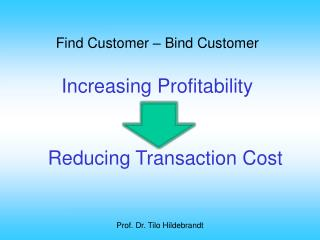 Find  Customer  – Bind Customer