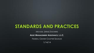 Standards and Practices