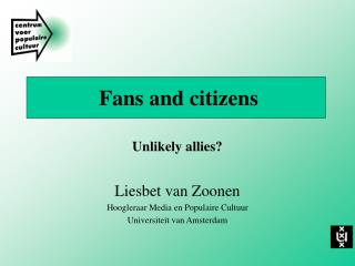 Fans and citizens