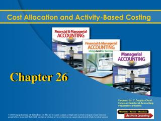 Cost Allocation and Activity-Based Costing