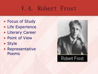 V.4. Robert Frost