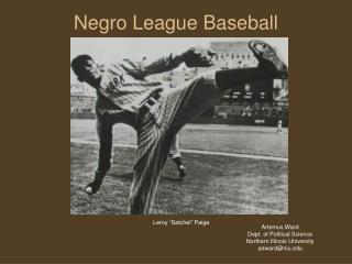 Negro League Baseball