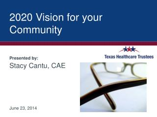 2020 Vision for your Community