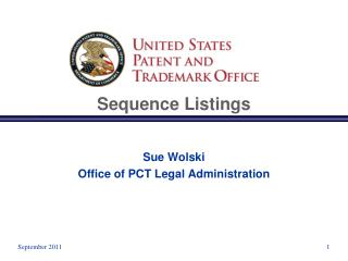 Sequence Listings
