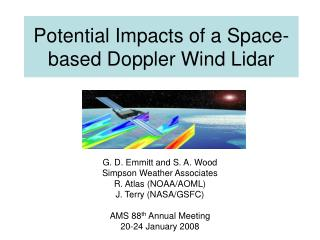 Potential Impacts of a Space-based Doppler Wind Lidar