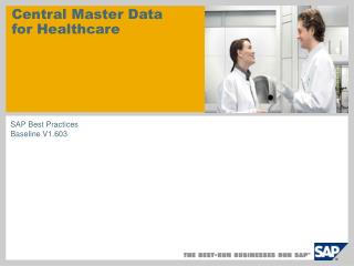 Central Master Data for Healthcare