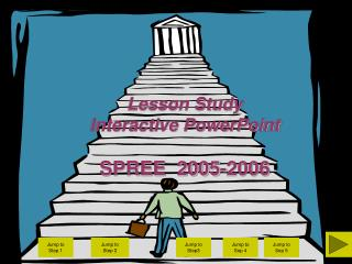 Lesson Study  Interactive PowerPoint SPREE  2005-2006