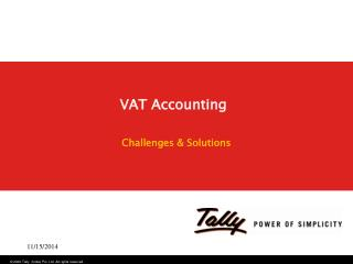 VAT Accounting