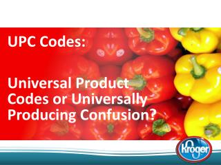 UPC Codes:  Universal Product Codes or Universally Producing Confusion?