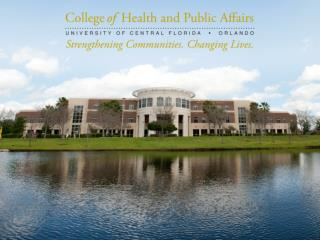 College  of Health and Public Affairs