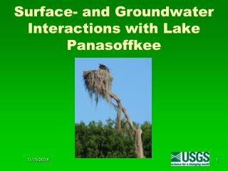 Surface- and Groundwater Interactions with Lake Panasoffkee