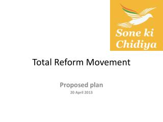 Total Reform Movement