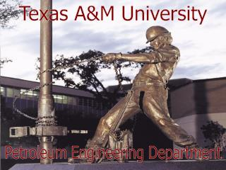 Petroleum Engineering Department