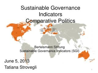 Sustainable Governance Indicators Comparative Politics