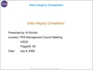 Data Integrity Compilation