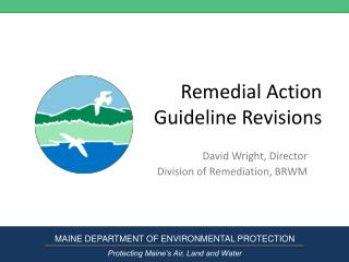 Remedial Action  Guideline Revisions