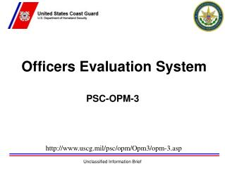 Officers Evaluation System